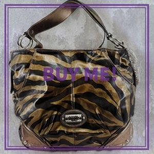 Kathy Van Zeeland Animal Print Handbag